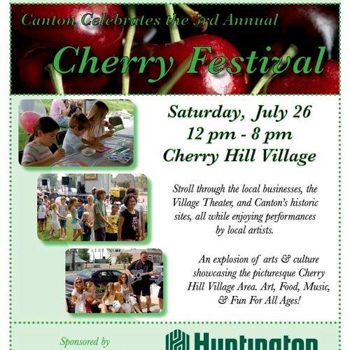Canton Cherry Festival Flyer