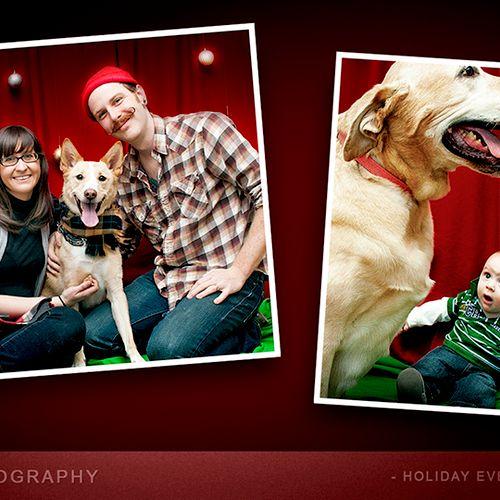 Holiday Pet Portrait Event