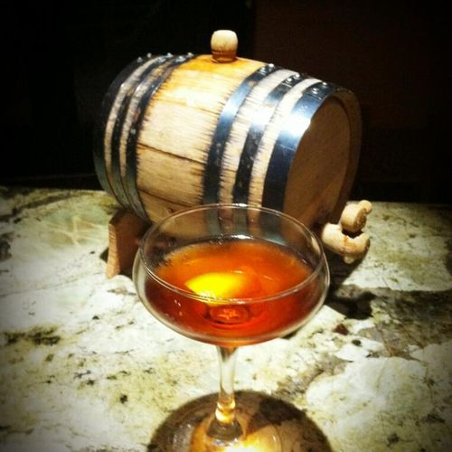 barrel aged negroni