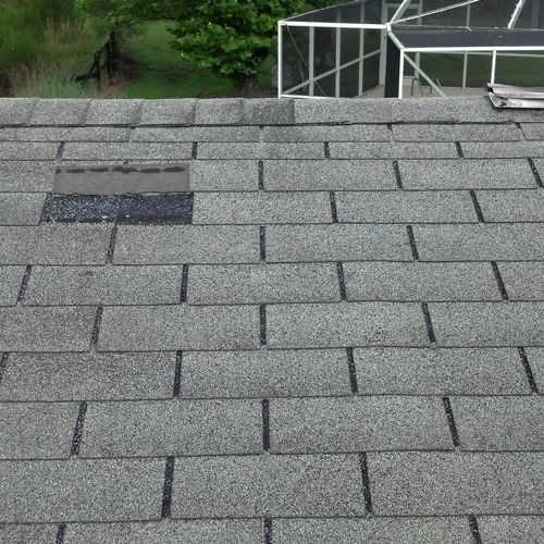 Traversing a roof is part of the job no matter what the height.