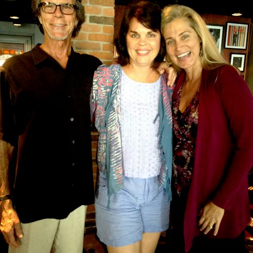 """With Bhava Ram and Laura Plumb, co-founders of Deep Yoga and speakers on my Evolving Conscious Health Cruise - Nov, 2013. Watch for a 2016 movie based on Bhava's book """"Warrior Pose""""."""