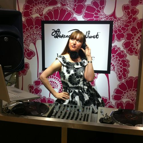 DJing event for Kate Spade
