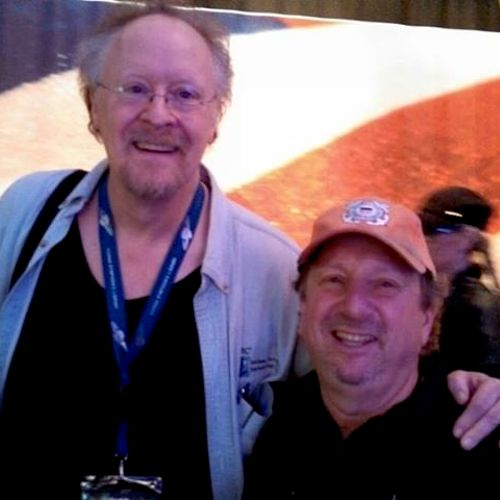 Doane Perry, drummer of Jethro Tull and myself..