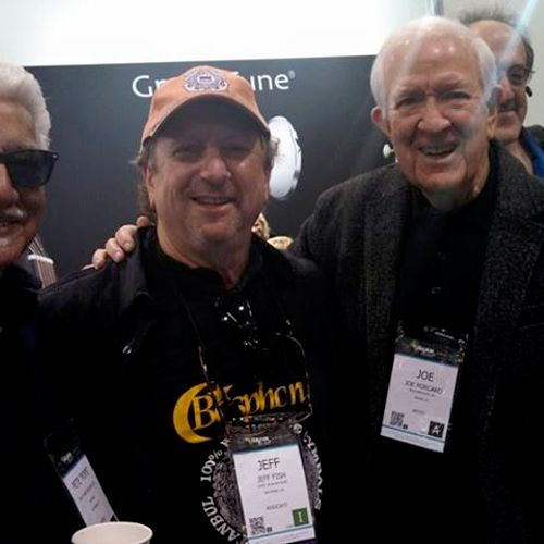 Pete Escovedo, myself and Joe Porcaro.