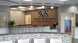 Specialized Veterinary Services Lobby
