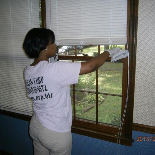 We clean windowsills too!