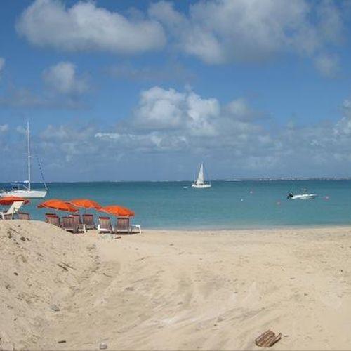 Beach on St. Thomas