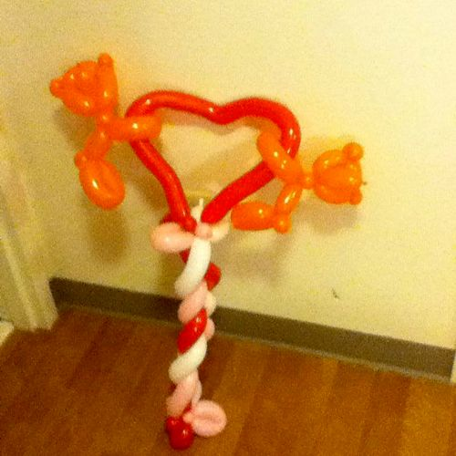 Special balloons for special delivery, including Valentine's Day