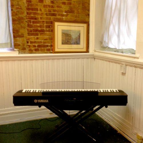 Vocal Studio - Top of the Line Yamaha Electronic Piano
