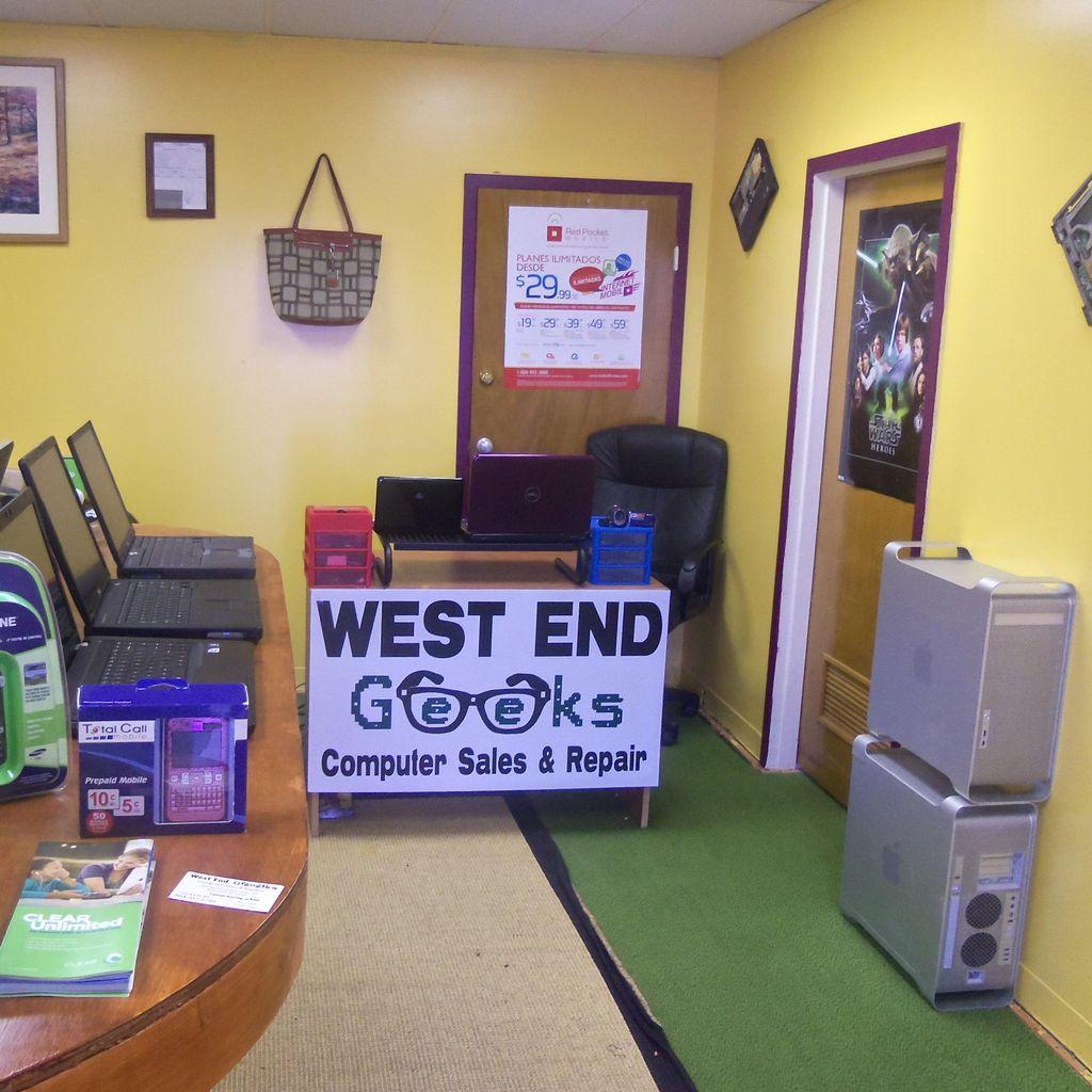 West End Geeks Computer Sales & Repairs