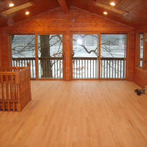wood flooring/complete vacation home renovation