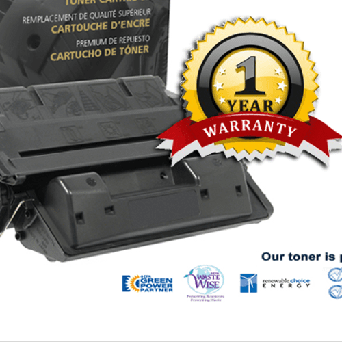 1 Year Warranty on Toner Cartridges and free delivery!
