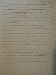 So that you don't have to struggle through my handwriting, I use digital means for editing and proofreading.
