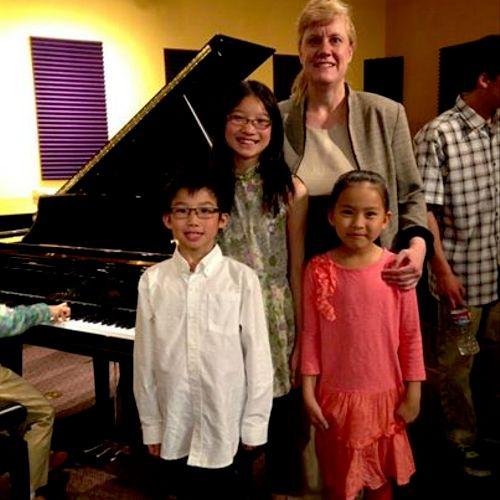 Denver Area Music Teachers Association Student Musicale February 2014.