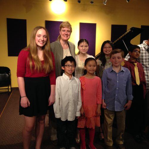 Denver Area Music Teachers Association Student Musicale February 2014
