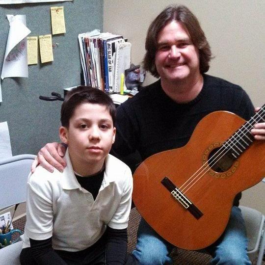 Phil Lashley, Guitar Instructor