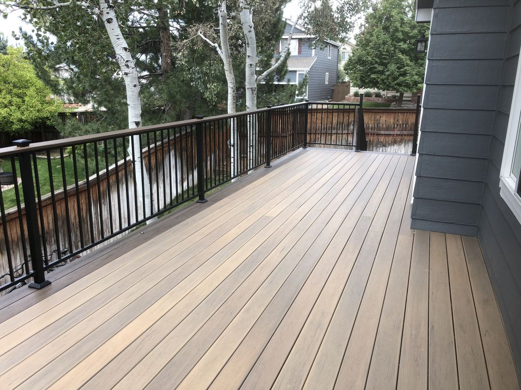 Deck with Fortress Lighting