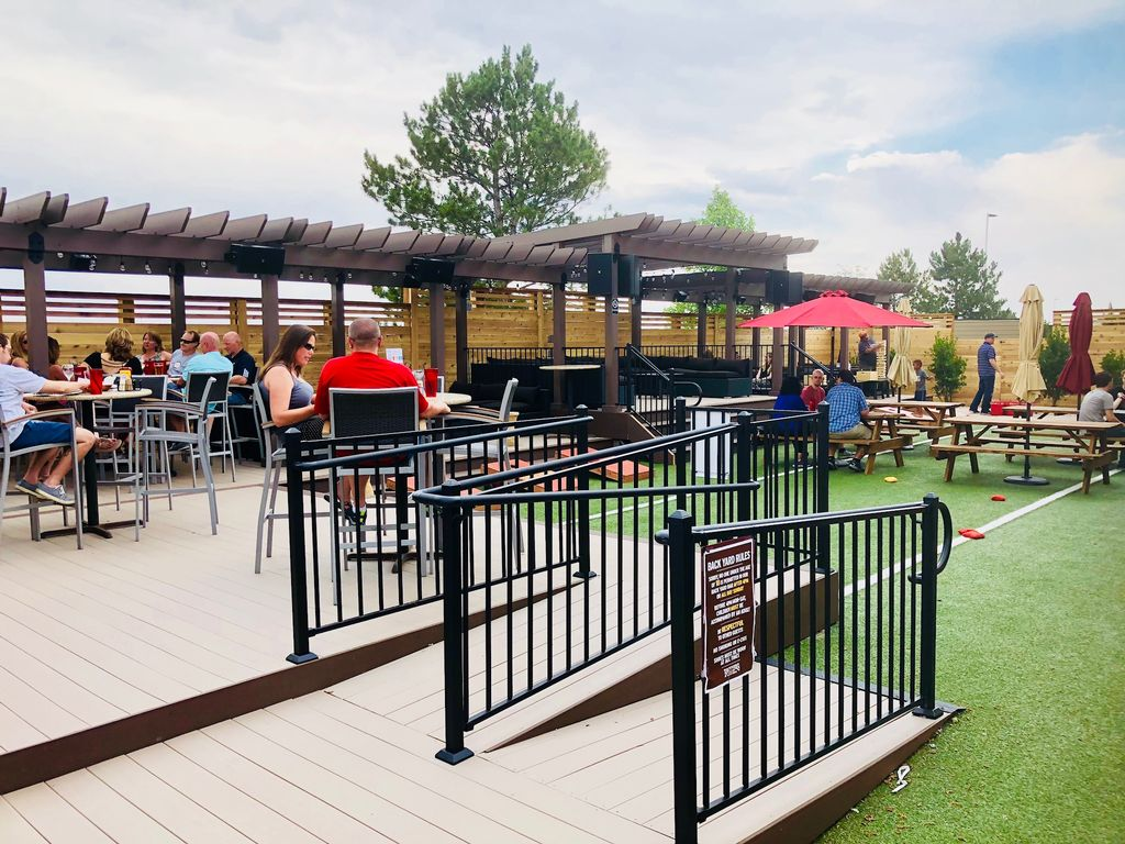 Brothers Bar and Grill- Deck and Pergola