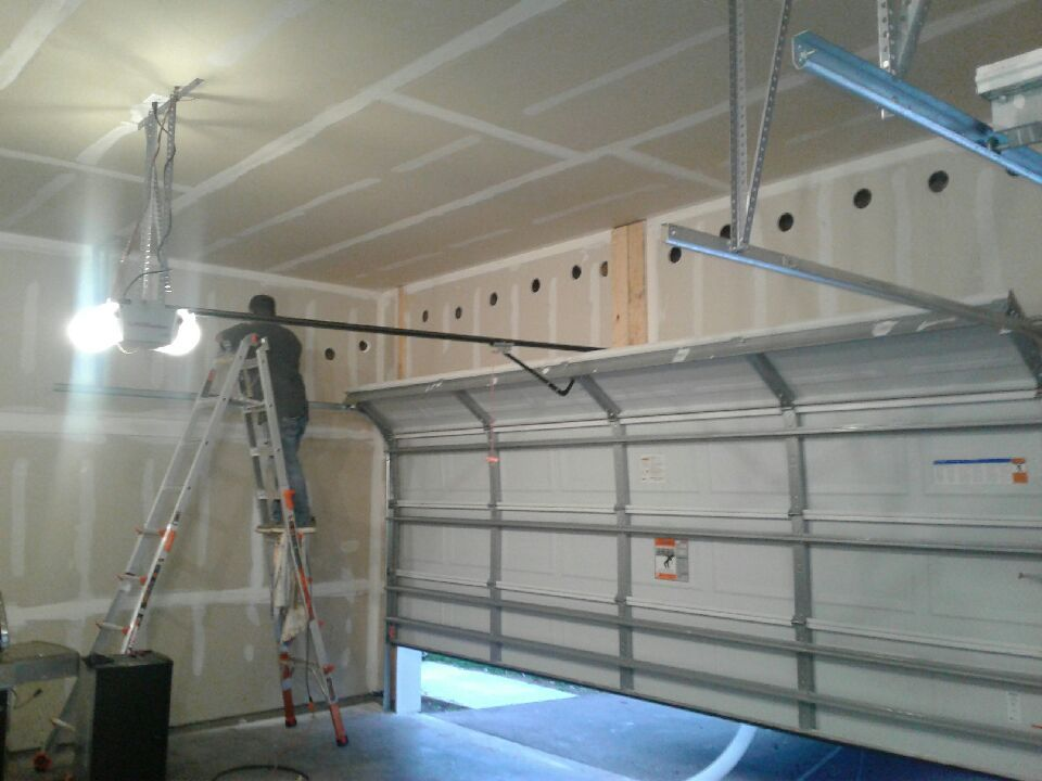 GARAGE INSULATE WALLS AND ATTIC