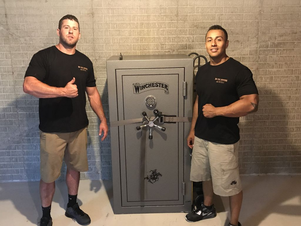 4 bedroom home and gun safe