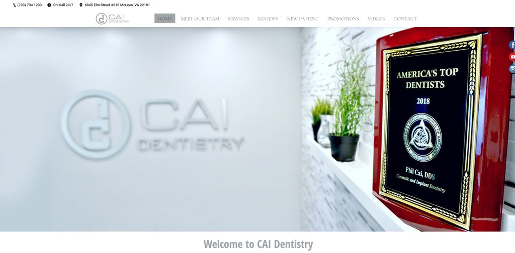 Website for a Dentist