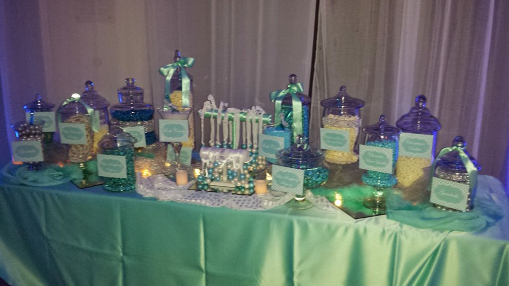 Tiffany Candy Table