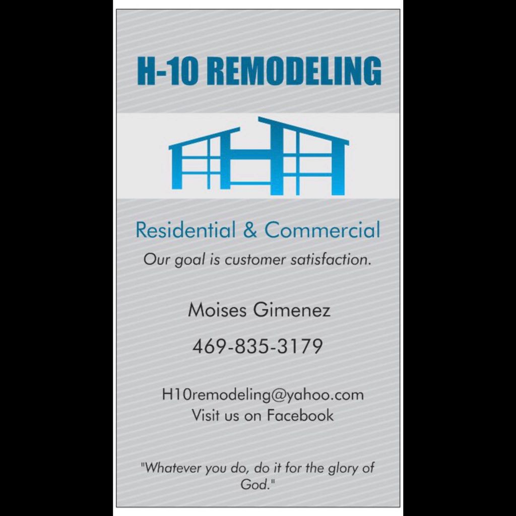 Remodeling-Residential & Comercial