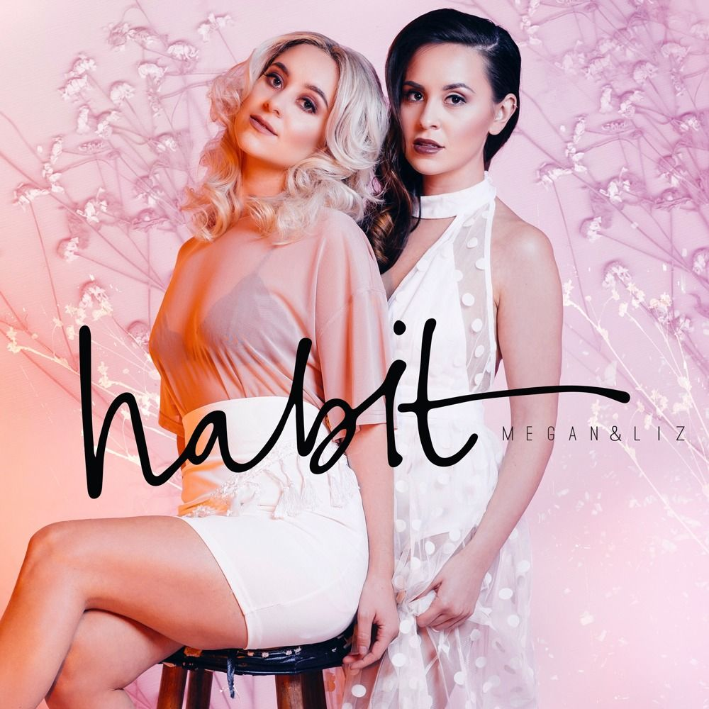 HMUA for Megan & Liz Habit Single Cover Art and lyric video