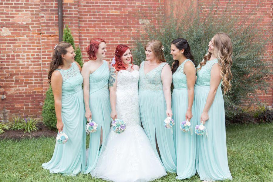 Little Mermaid Themed Wedding