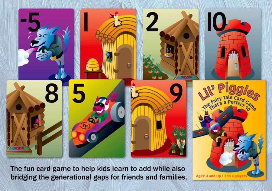 Lil' Piggies Card Game