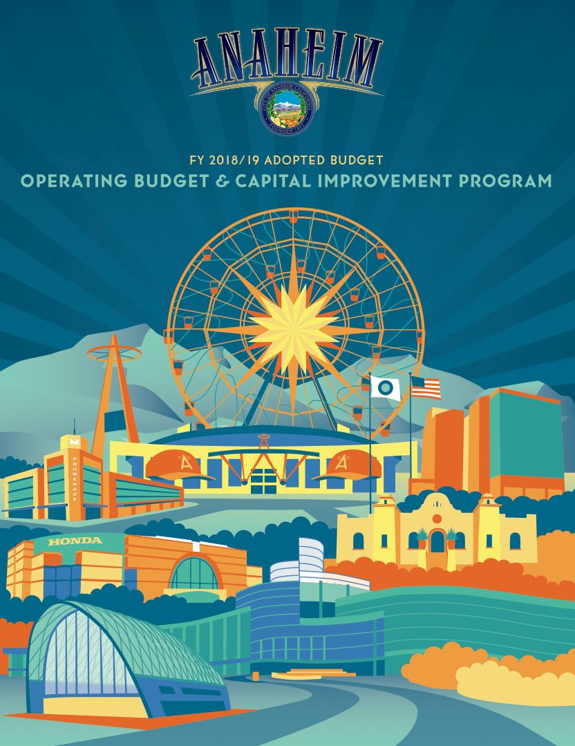 Anaheim City 2018-19 Annual Report Cover