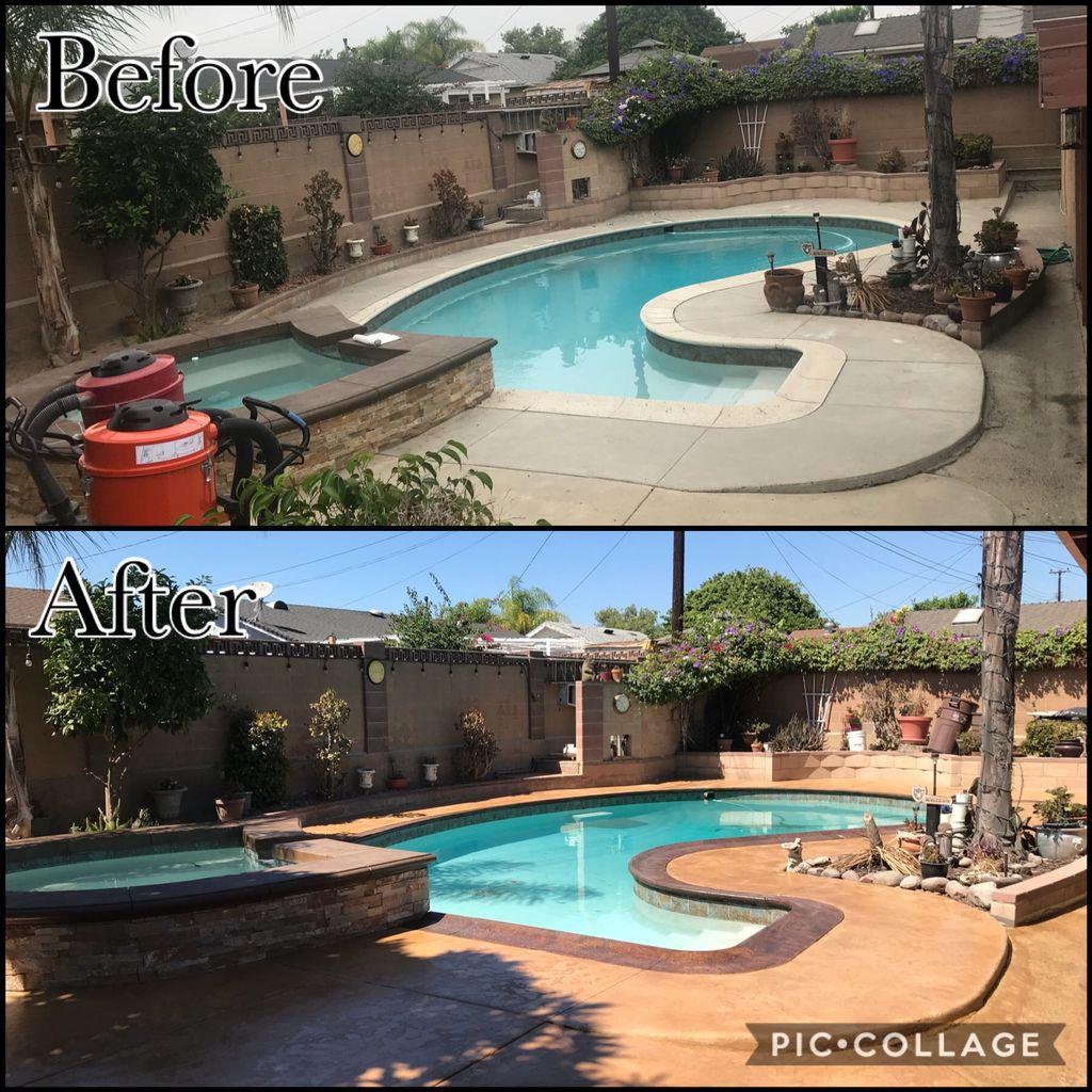Pool Deck & Patio Renovation