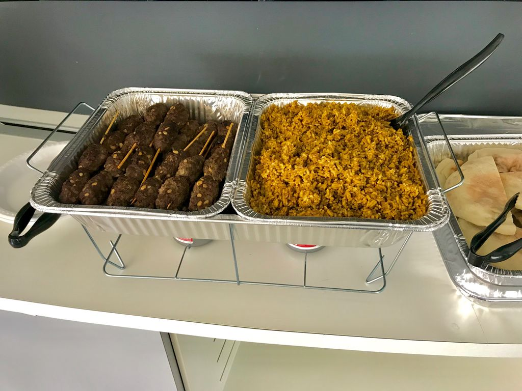 Middle Eastern Delight Office Lunch