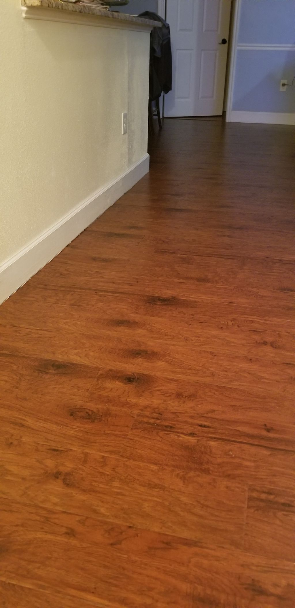 Laminate and vinyl Plank