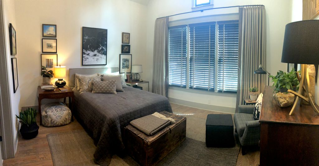 Master Bedroom and Draperies