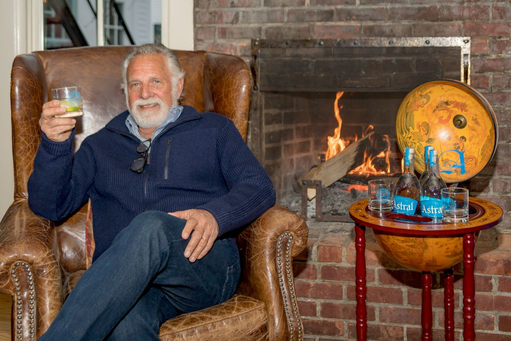 Jonathan Goldsmith at Astral Vodka launch event
