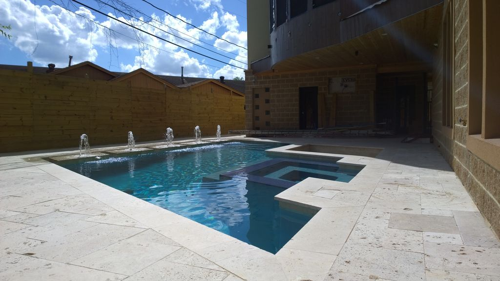 Modern Pool- Houston