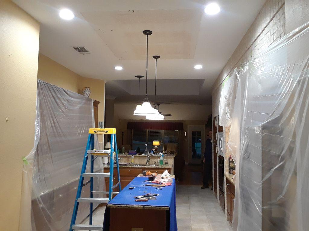 Install Recessed Lights & Pendant Lighting