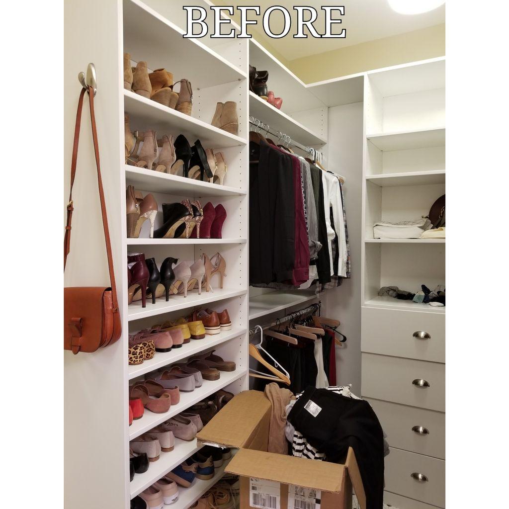 No budget closet