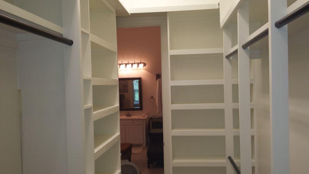 Total closet rebuild
