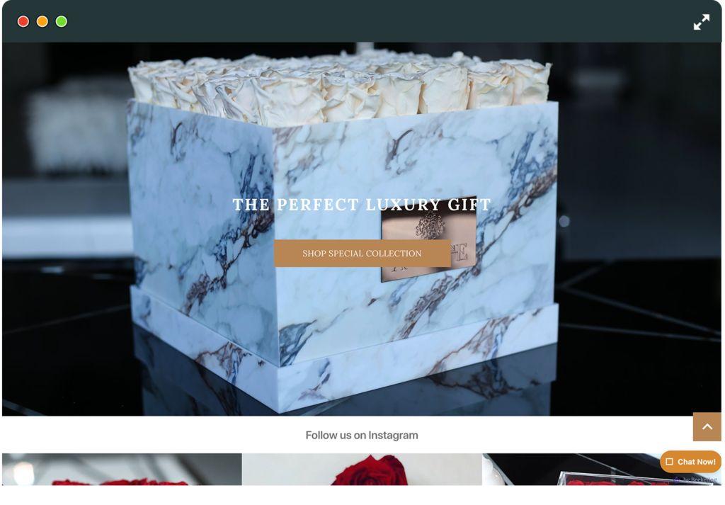 Amaranthine Shopify Website
