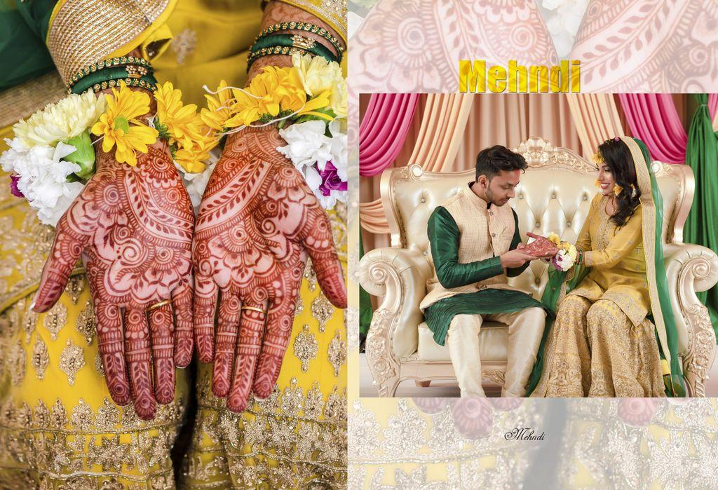 Indian pre wedding - aka Mehndi