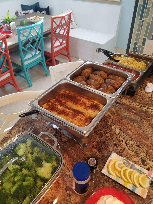 Elegant Buffet Dinner