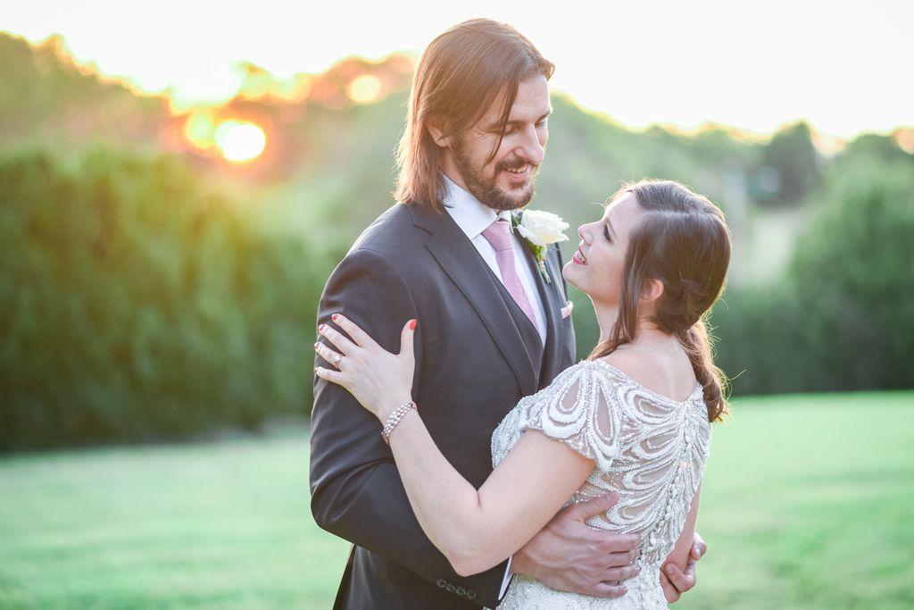 Elegant Fall Wedding at Barboursville Vineyard