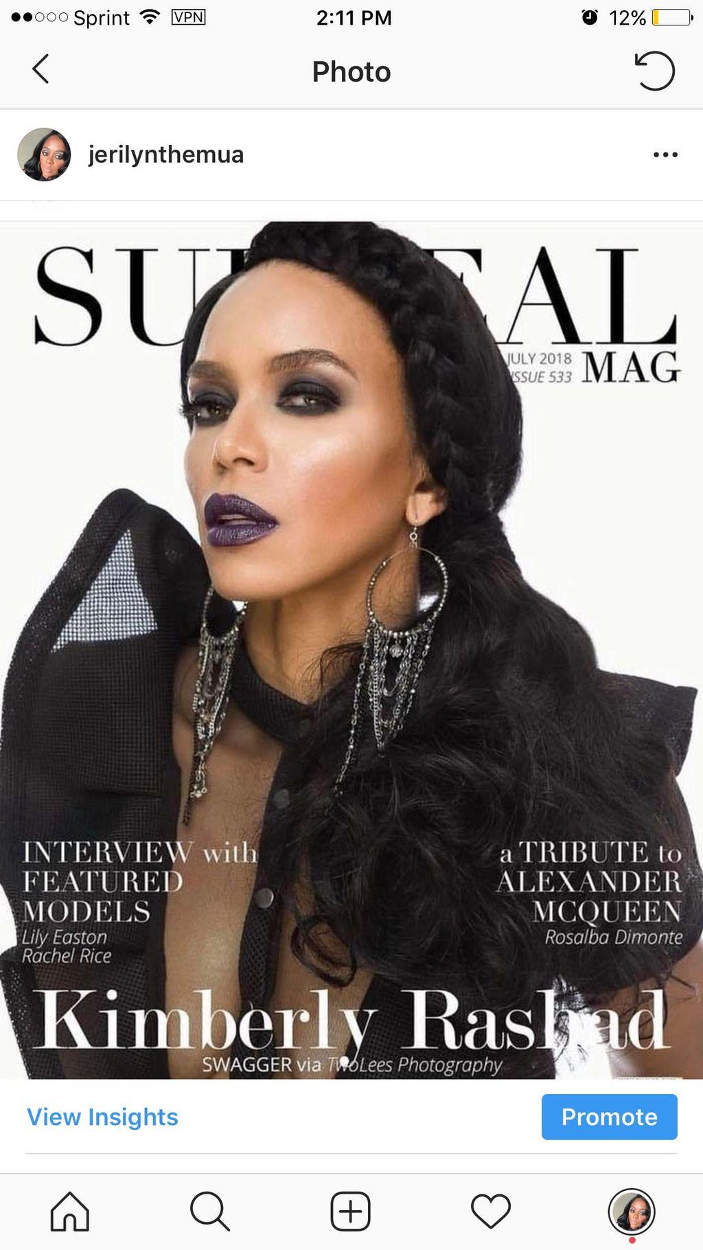 Surreal Magazine Cover