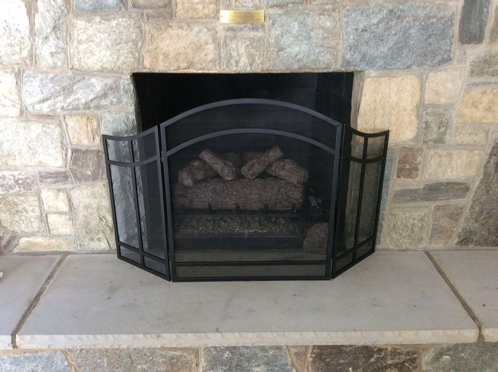 Classic Golden Oak Fireplace Installation