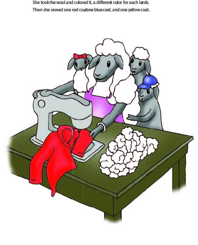 Three Little Lambs Children's Book