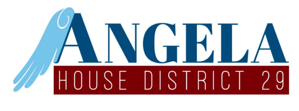 Angela's Political Logo