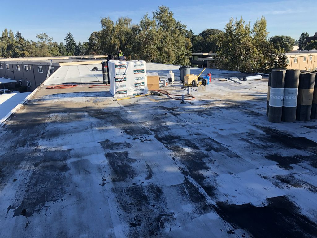 Commercial, Torchdown Roof