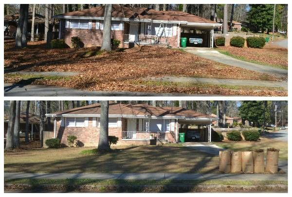 Leaf removal and Roof & Gutter Cleaning